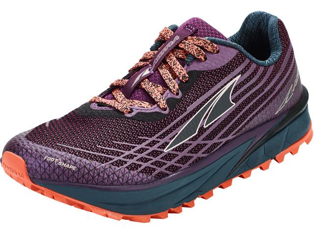 Altra Timp 2 Trail Running Schuhe Damen plum/coral
